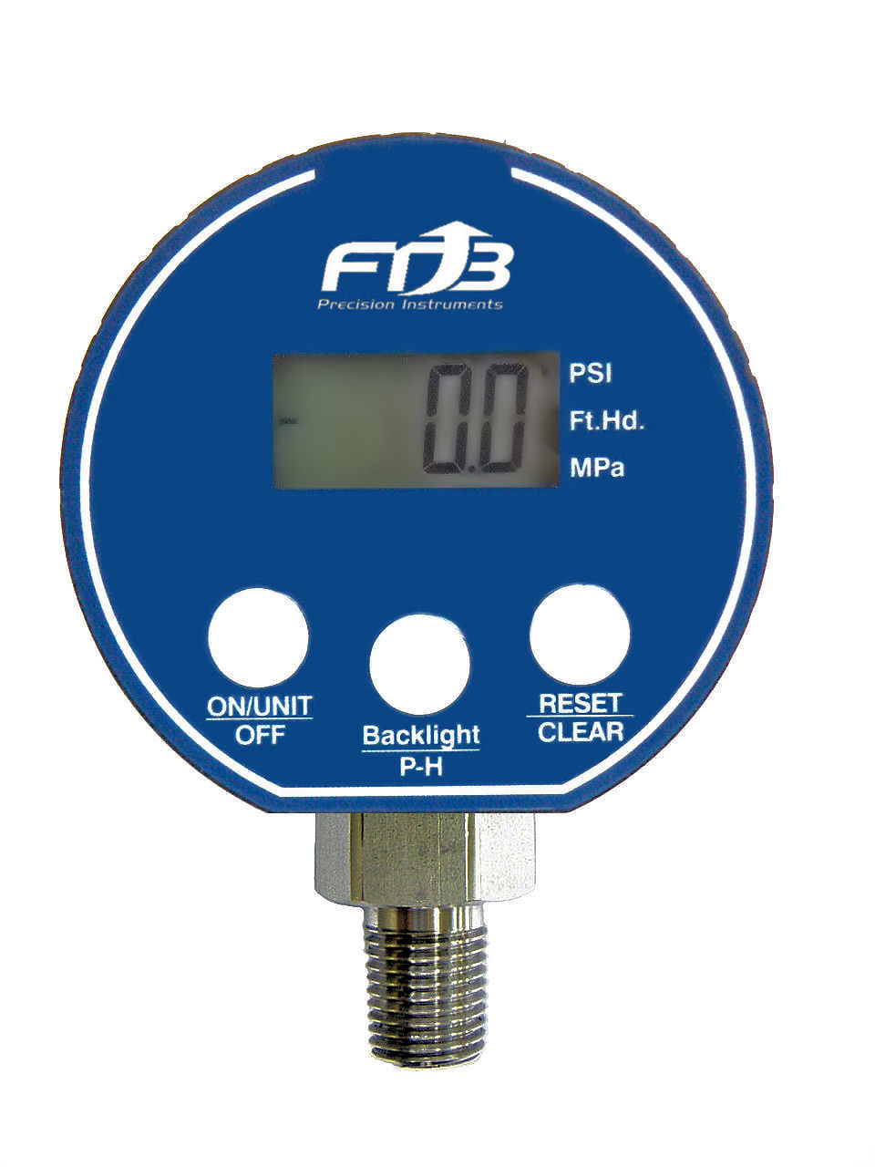 Battery-Powered Digital Pressure Gauges